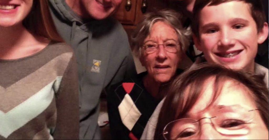 Charter Senior Living of Bowling Green Video Thumbnail Family Group Surrounded by senior living resident